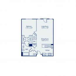 Bell Annapolis on West 1 Bedroom Apartment