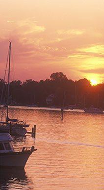 Annapolis Harbor at Sunset