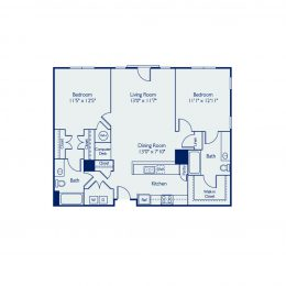 Bell Annapolis on West 2 Bedroom Apartment